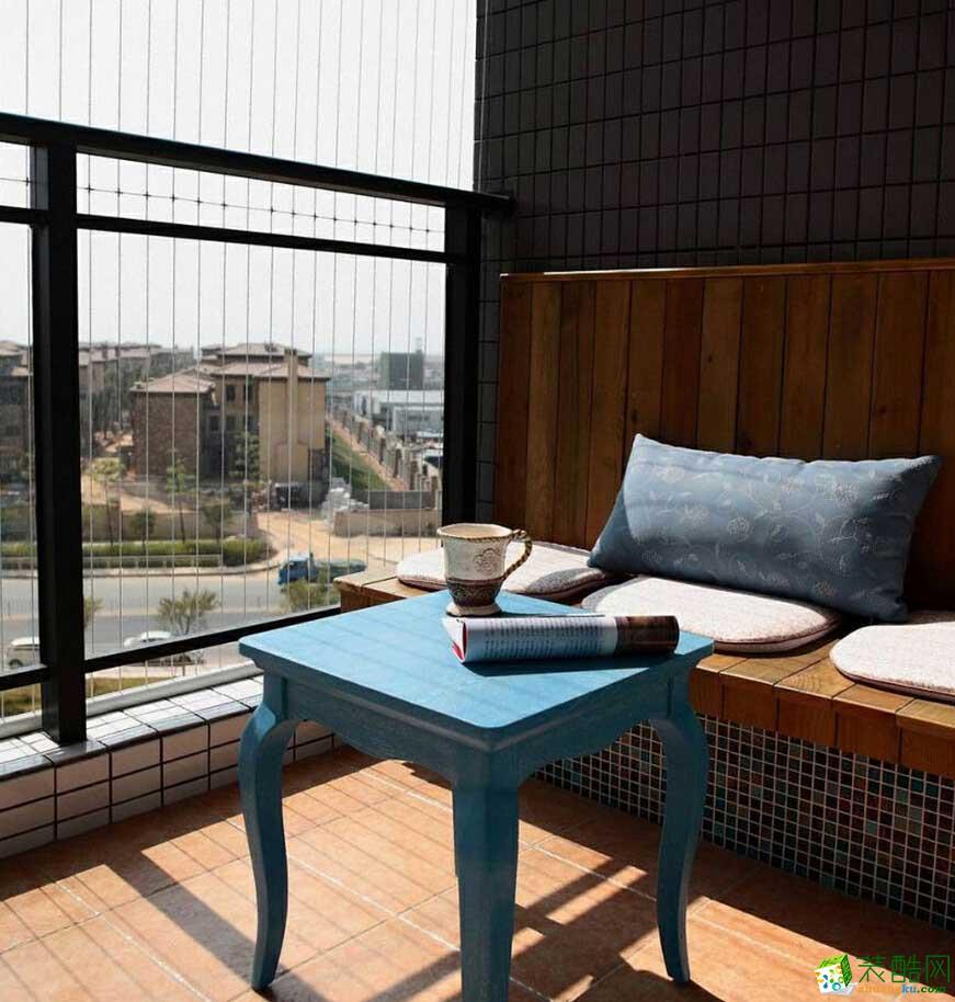 家惠美创装饰---地中海风格140平米三室两厅装修效果图赏析。
