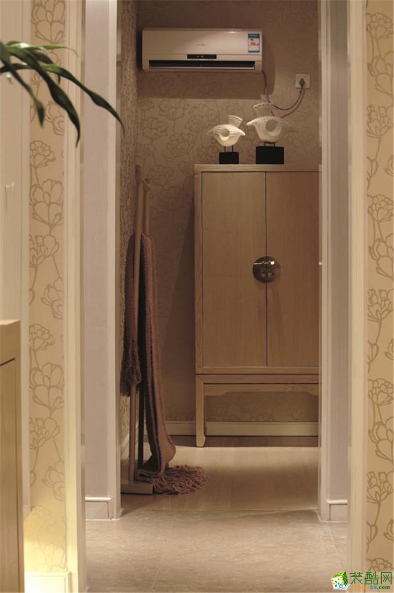 【美颂雅庭装饰】凯乐花园123方三室两厅新中式风格设计效果图
