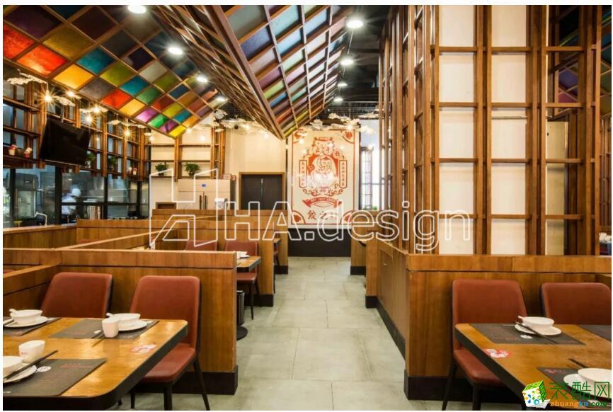 【武汉汇艺装饰】传统中餐厅武汉公装设计公司汇艺装饰