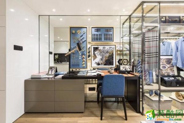 三室两厅|90平|现代风格|装修效果图