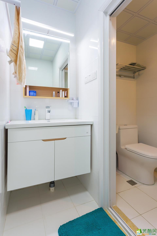 两室两厅|80平|简约风格|装修效果图