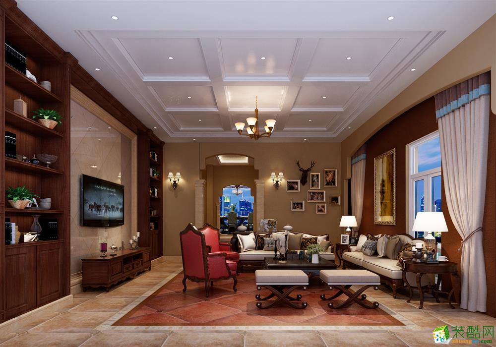 丛一楼装饰―保利半山国际别墅夏蒙尼190栋美式风格