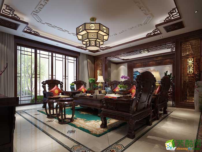 龙发装饰-乌合设计工作室中式风格