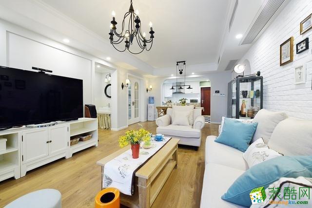 【塞纳春天装饰】美式风格家居装修效果图--宝龙城