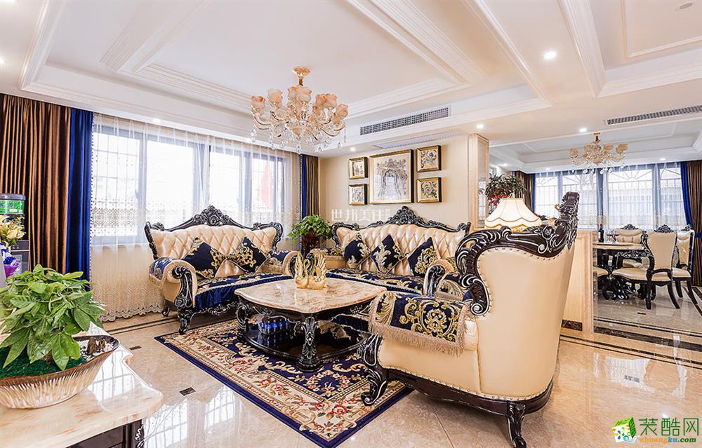 【世邦美住】永久公寓三室两厅简约风格装修设计效果图