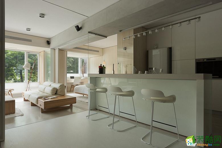 【良星装饰】220方日式简约风格别墅装修设计效果图