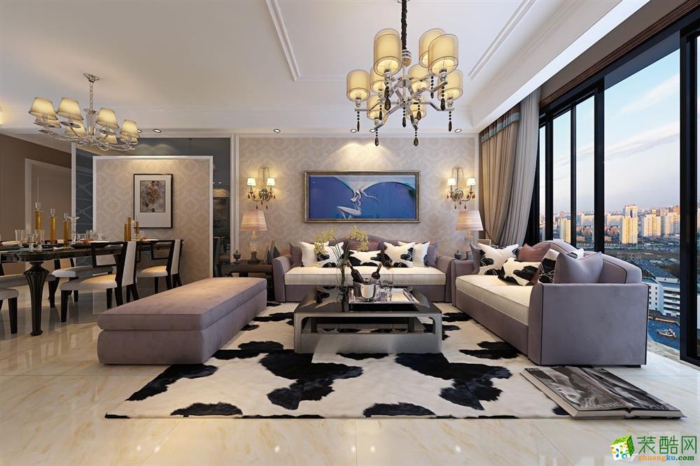 保利拉菲公馆127平现代设计