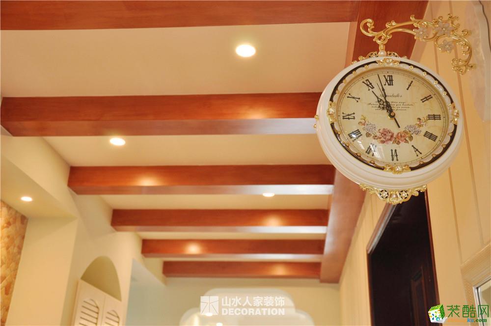【武汉山水人家装饰】广电兰亭珑府178平美式乡村风格装修效果图
