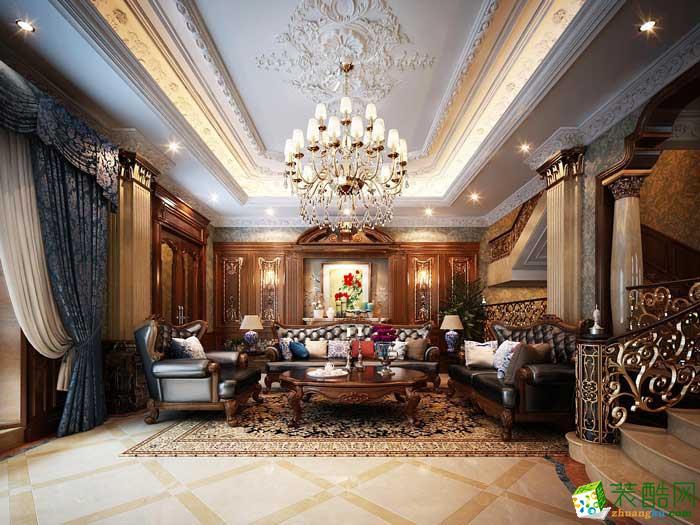 龙发装饰-乌合设计工作室古典欧式风格