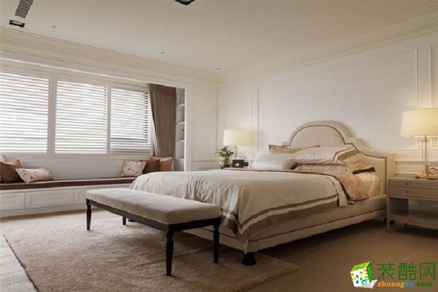 【塞纳春天装饰】美式风格家居装修效果图--河海花园