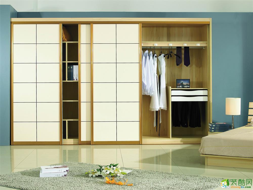 原木匠裝飾|定制家具|衣柜系列案例賞析
