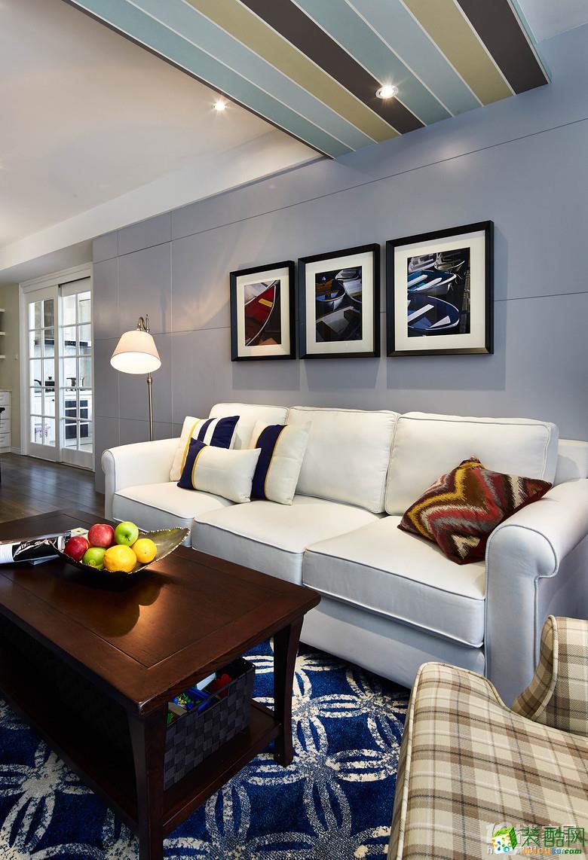 >> 【朴森装饰】110方简美之家三室一厅软装设计搭配装修效果图图片