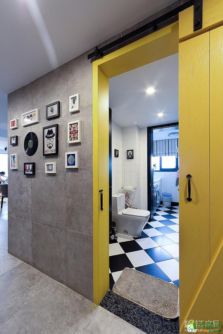 【朴森装饰】160方北欧风格四居室软装设计搭配效果图