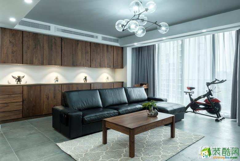 【朴森装饰】147方简约风格四居室软装设计搭配效果图