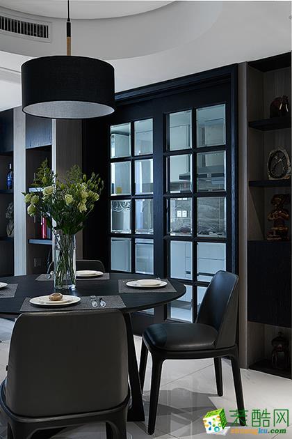 【颜青软装】金都华府150方四室两厅软装设计搭配效果图