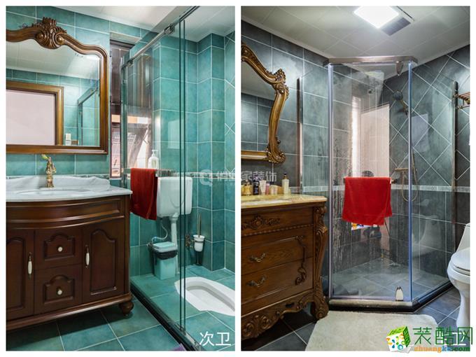俏业家|金科公园王府三室|美式风格装修|140平米装修实景案例图赏析。