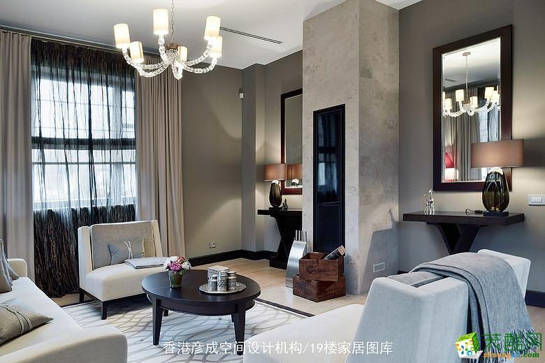 彦成设计―153方四室两厅现代风格四居室装修效果图