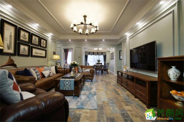 金煌装饰 长沙南山雍江汇126平米四室两厅装修案例图