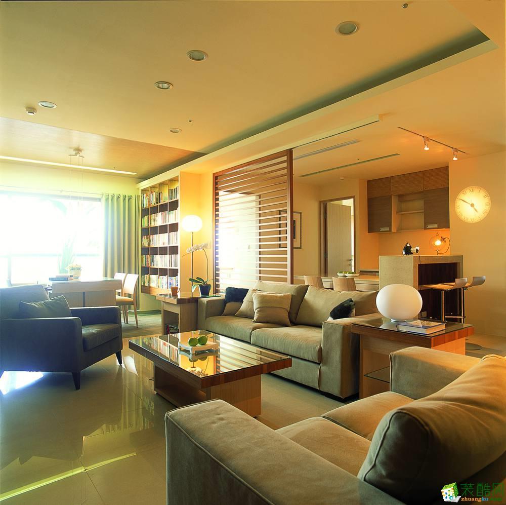 幸福家装饰|鲁能领秀城168平米混搭风格四居室装修案例图