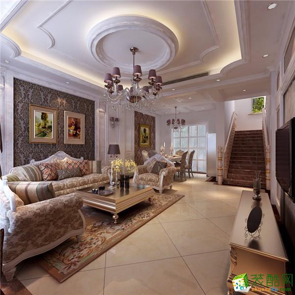 客厅【大合装饰】 210平方别墅简式北欧风格装修效果图 【大合装饰】图片