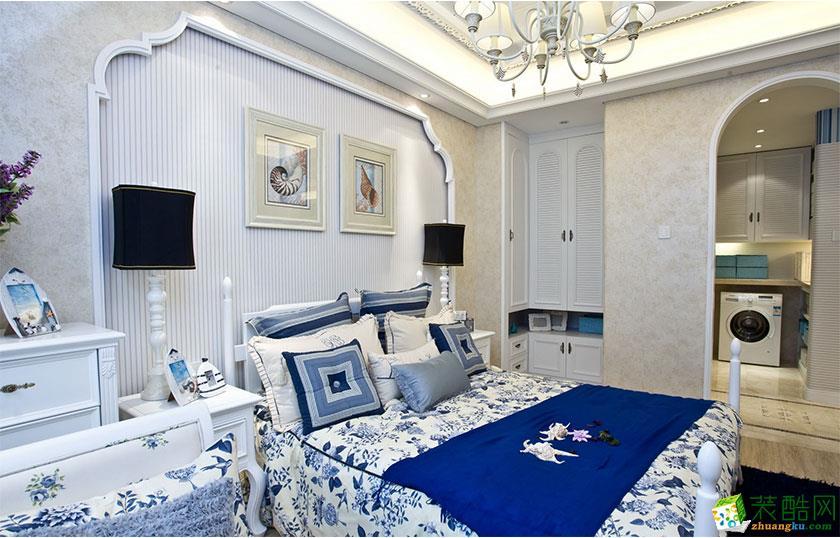 地中海风格三室两厅100平米装修案例图|生活家装饰