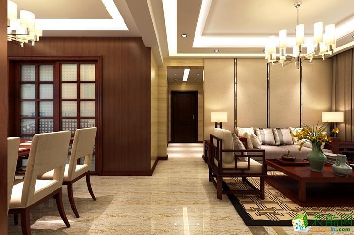 舒适惬意的家居生活三居室120�O现代简约风格|业之峰装饰