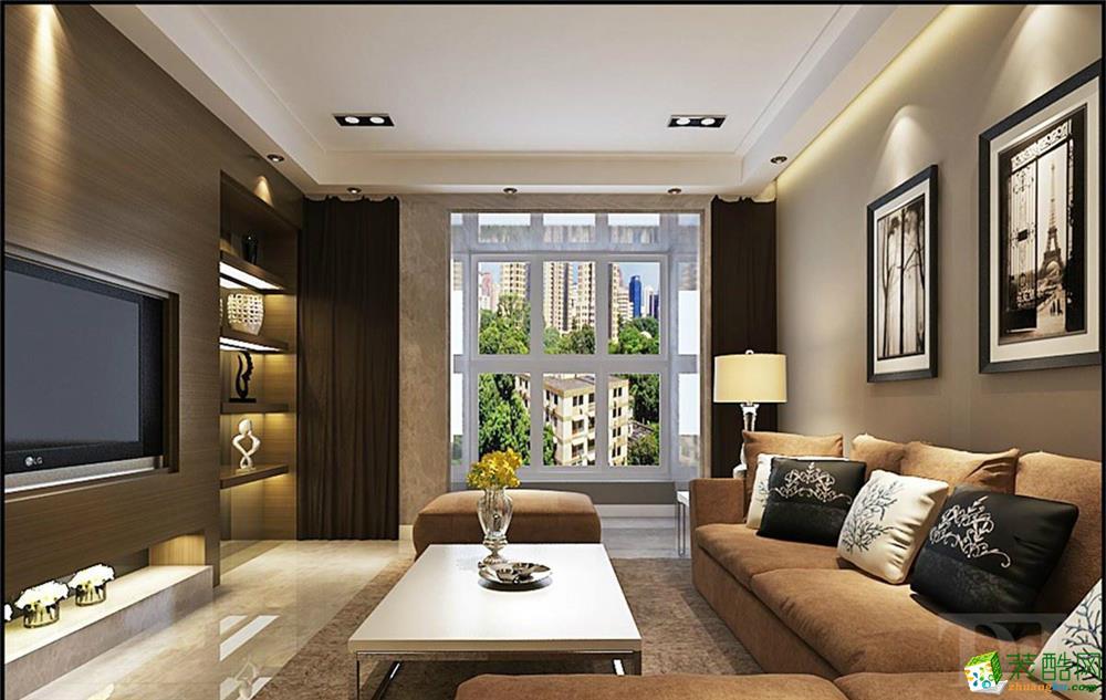 【天地和装饰】紫晶悦城两居室现代简约风格装饰效果图