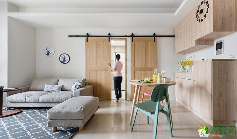 三室两厅|92平米|现代风格|装修效果图