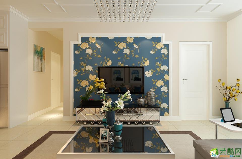 拉萨汉风装饰-现代简约三居室装修效果图