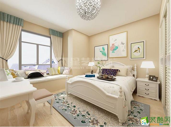 卧室  【星艺装饰】托斯卡纳150�O田园风格装修效果图