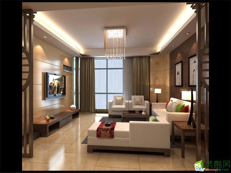 长沙家和装饰-中式三居室装修效果图
