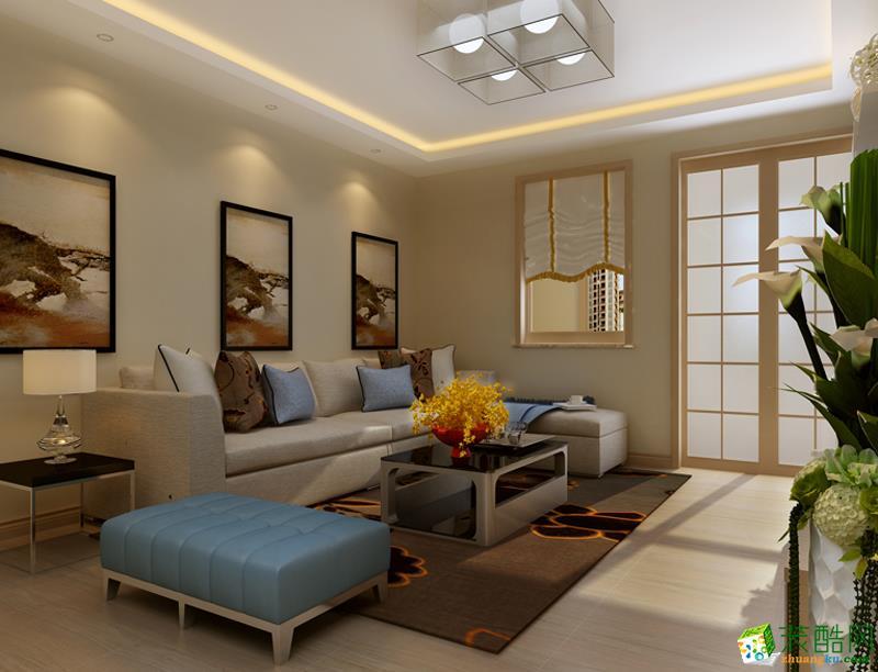 长沙家和装饰-现代简约三居室装修效果图