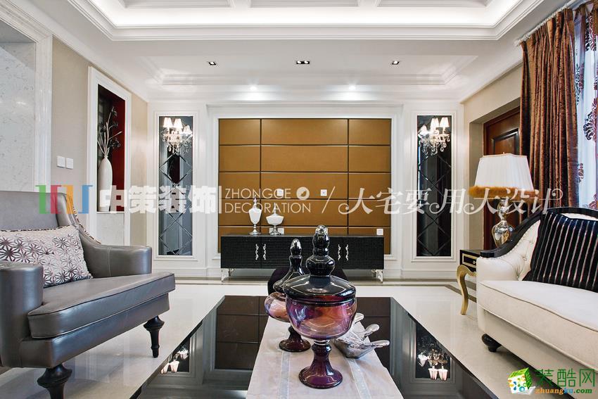 300平米中古典风格别墅住宅装修效果图 中策装饰