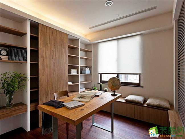 【龙发装饰】高远时光城95�O现代东南亚风格二居装修效果图