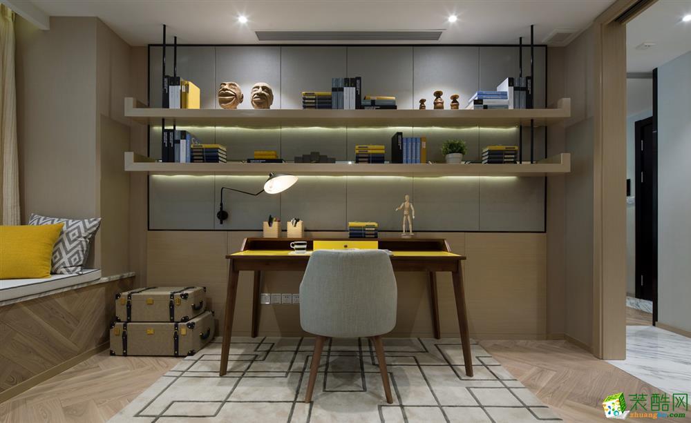 110平米现代简约风格装修案例图赏析|华浔品味装饰
