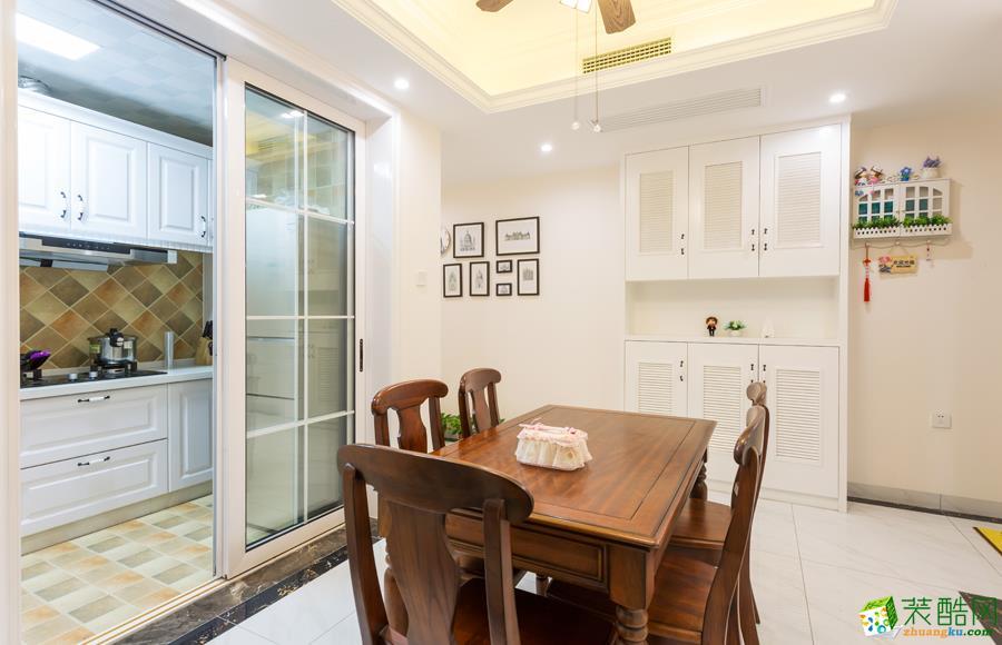 两室两厅|62平米|美式风格|装修效果图赏