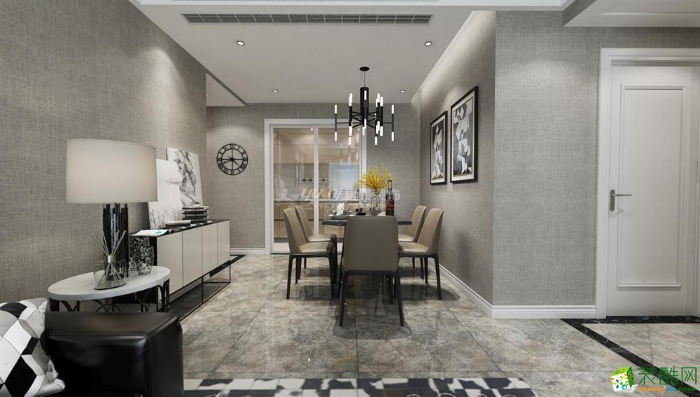 【远景装饰】康桥融府85平米现代简约风格两室两厅装修案例图