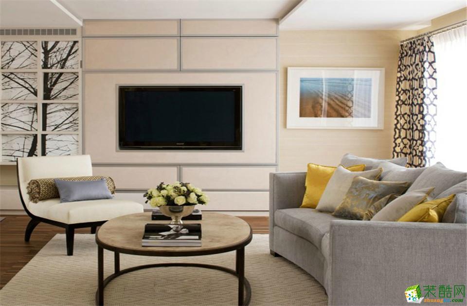 长沙千思装饰-现代简约两居室装修效果图