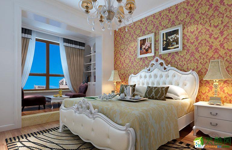 【兴达装饰】和兴东城120�O简欧风格三室装修效果图欣赏