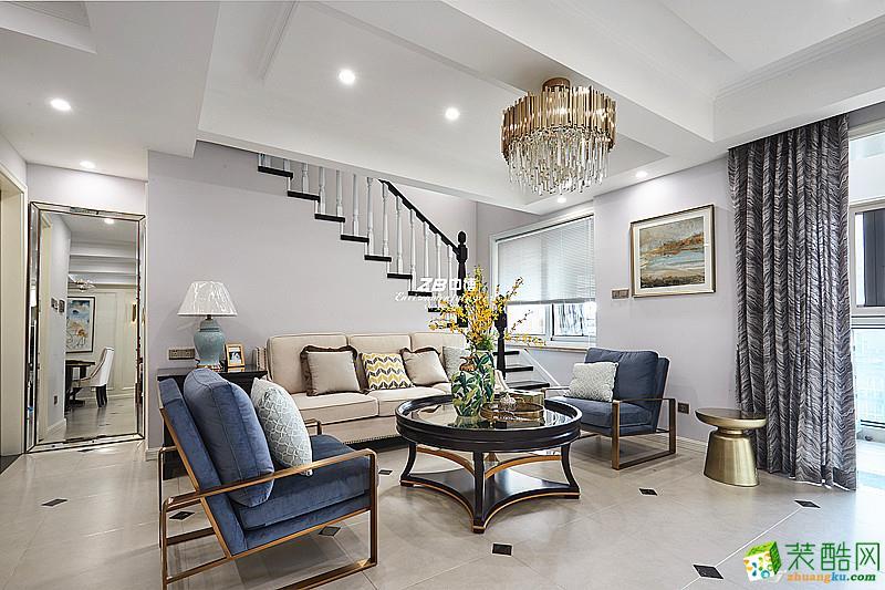 随意不羁,休闲浪漫----和达御观邸135方现代美式舒适居家