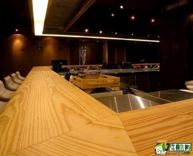 西安南郊燒烤店裝修設計圖