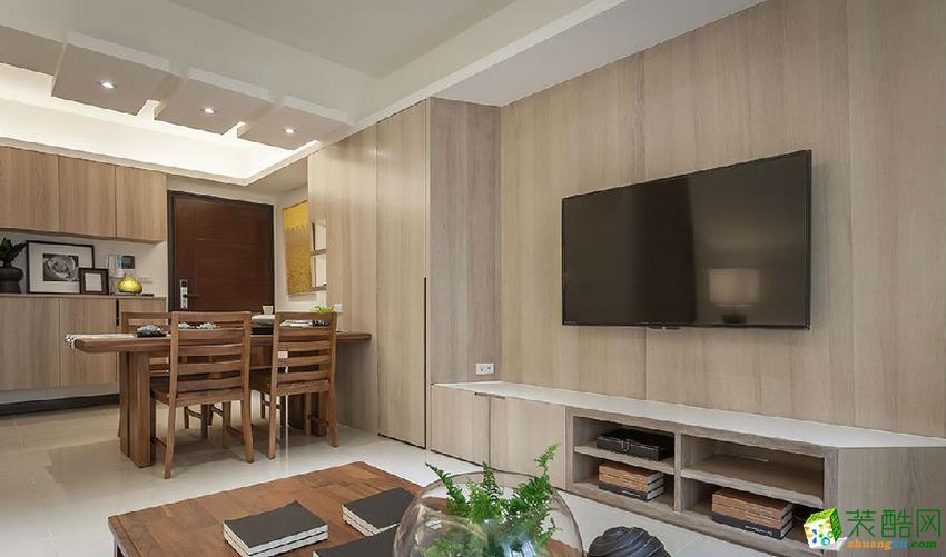 六安金麟裝飾-現代簡約三居室裝修效果圖