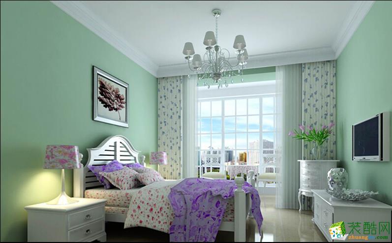 【一诺装饰】90�O两室现代装修效果图欣赏