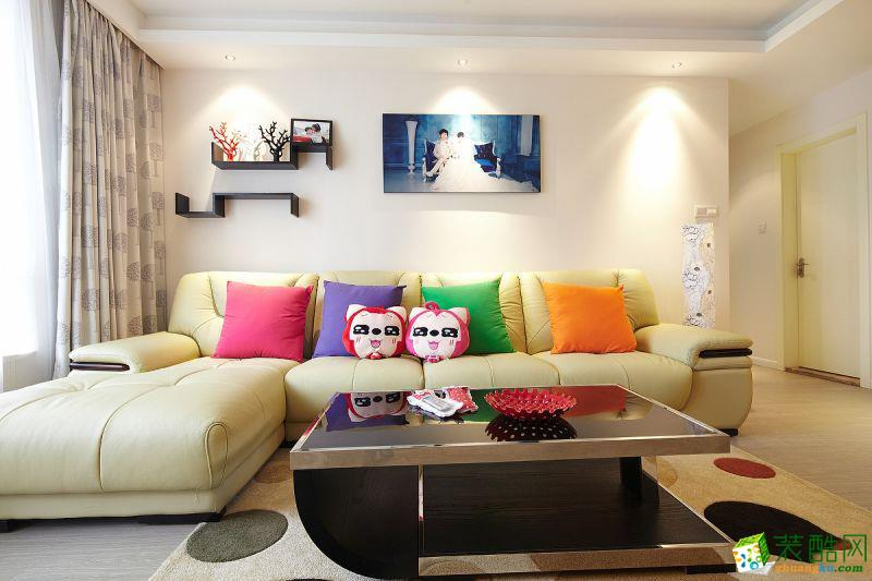 四室兩廳 160平米 現代風格 裝修效果圖