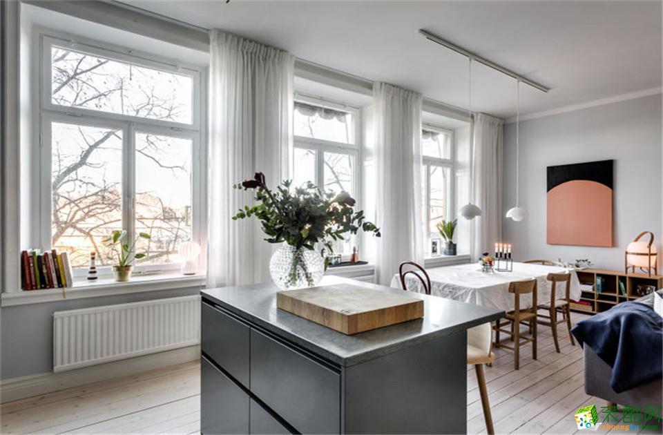 长沙尚品道装饰-北欧两居室装修效果图