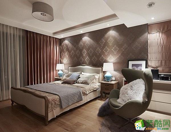 【铭典装饰】岭南神韵142方三室两厅简美风格装修效果图