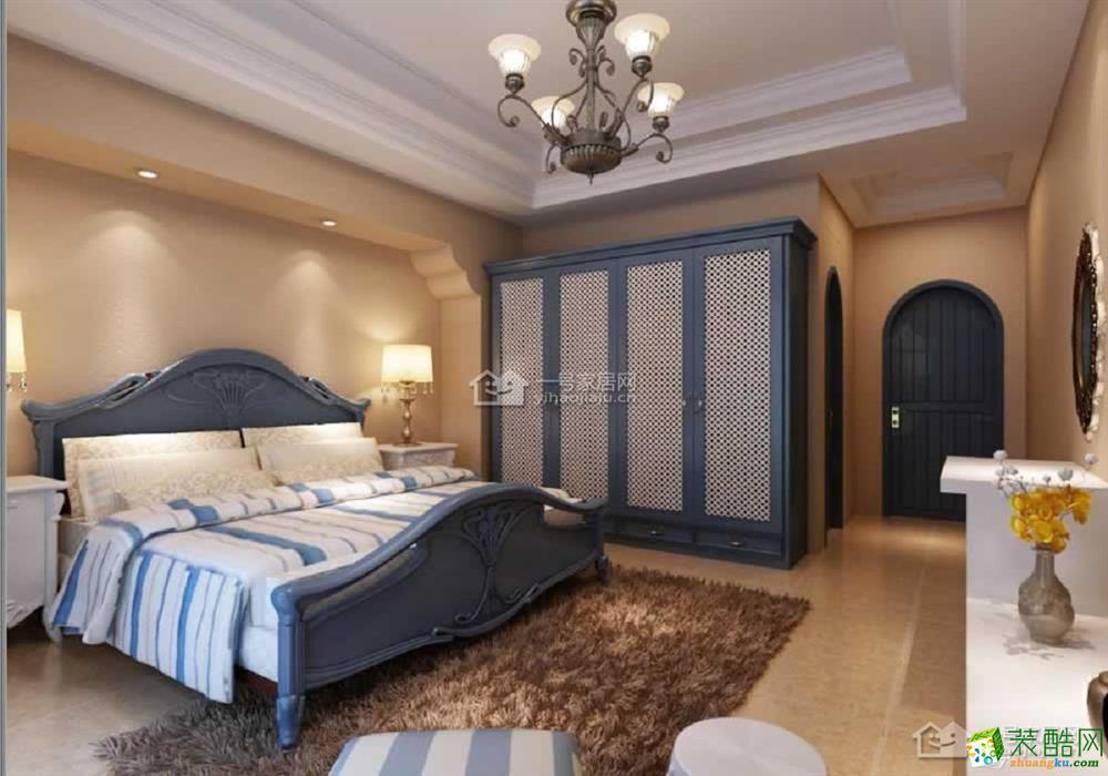 【一号家居装饰】84平米二房二厅地中海风格装修效果图