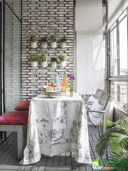 【苏州安然居装饰】三室一厅白色简约装修设计效果图