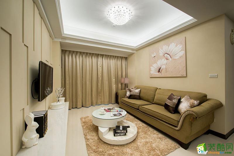 79平米现代简约风格两室两厅装修案例图 品峰装饰