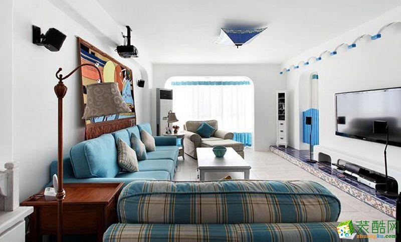 88平米混搭风格两室两厅装修案例图 品峰装饰